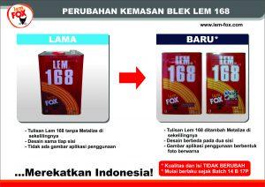 FA_Info Rubah kemasan Blek LEM 168